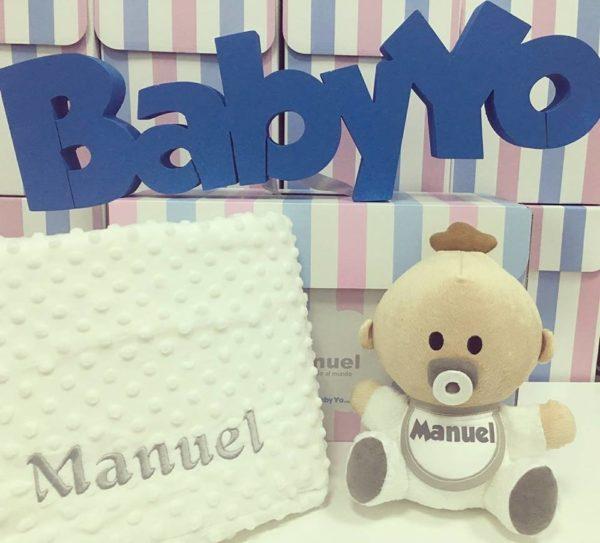 pack babyyo manta de topitos Mora