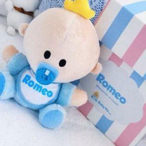 muñeco bebé marca Babyyo personalizado