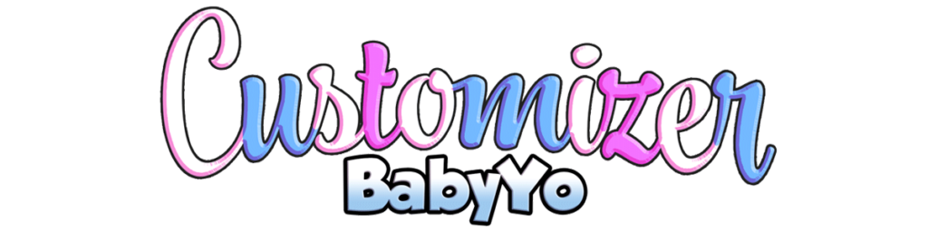 Logotipo Babyyo Customizer