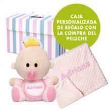 Pack Babyyo manta topitos Mora bebé personalizada